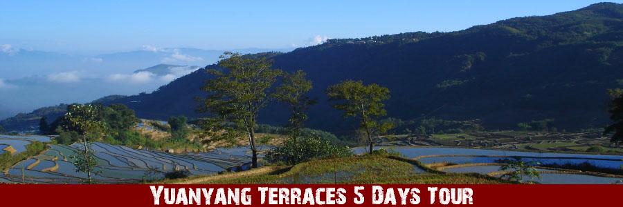 Yuanyang Terraces 5 Days Tour