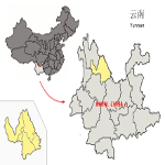 Lijiang Prefecture Map