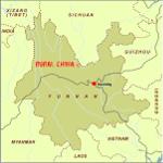 Yunnan Plain Map
