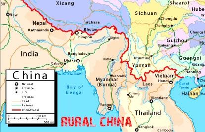 Rural china maps kunming map yunnan kunming map gumiabroncs Choice Image