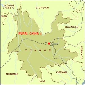 Kunming Yunnan Map