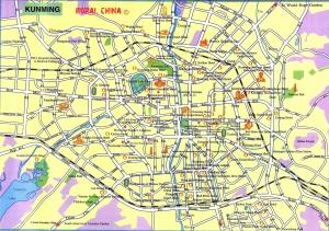 Kunming City Map