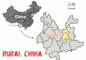 Kunming Prefecture Map