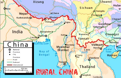 Kunming China Map Rural China   Maps   Kunming Map Kunming China Map