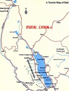 Dali regional map